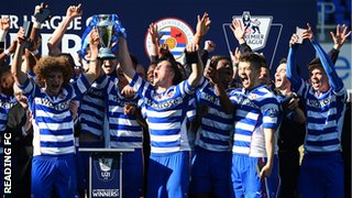 Reading youngsters lift the Premier League Under-21 Cup