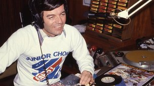 Tony Blackburn on Radio 1