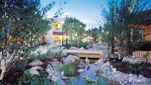 Center Parcs resort in Elveden Forest, Suffolk