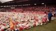 Hillsborough tributes at Anfield