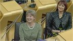 Shona Robison and Angela Constance