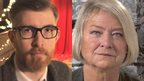 Gareth Malone and Kate Adie