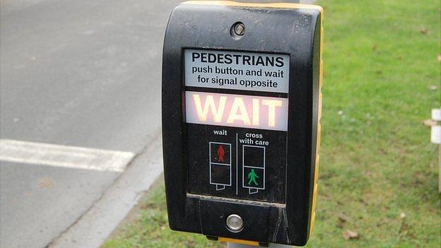 Pedestrian crossing signal