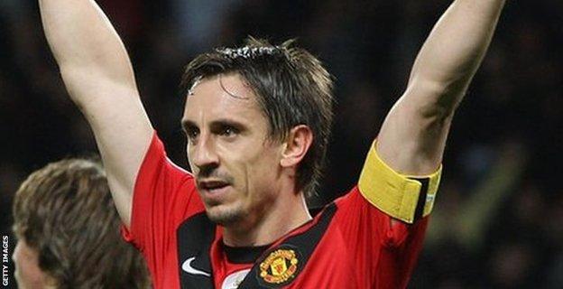 Former Manchester United defender Gary Neville