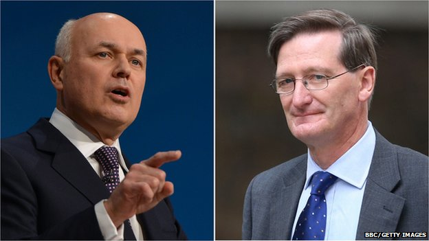 Iain Duncan Smith and Dominic Grieve