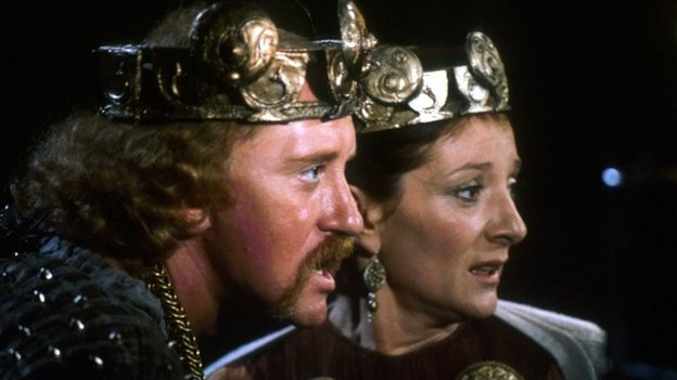 scene from BBC production of Macbeth