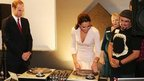 Duchess of Cambridge learns to DJ
