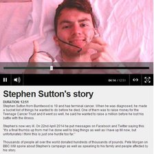 Stephen Sutton's story