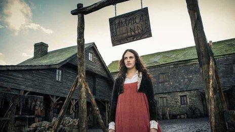 Jessica Brown Findlay stars as Mary Yellan