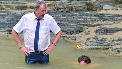 Jeremy Clarkson and Richard Hammond front Burma Special