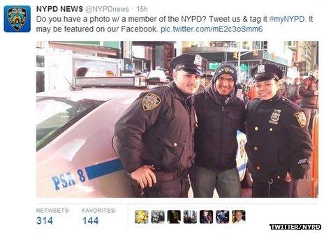 NYPD Tweet