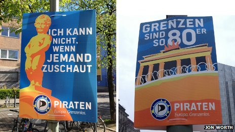 Pirate Party posters