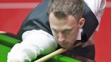 Judd Trump in action against Tom Ford