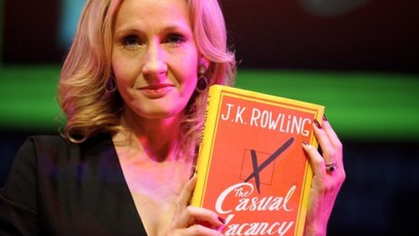 JK Rowling holds new novel
