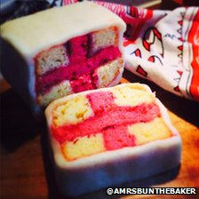 St George's battenburg