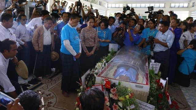 Myanmar News Links: Myanmar democracy veteran mourned