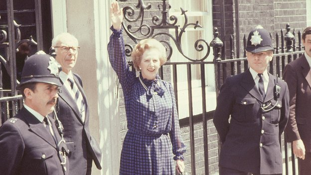 Margaret Thatcher after 1983 general election