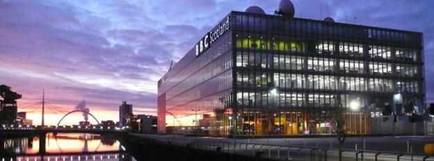 BBC Scotland, Pacific Quay building