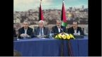 Palestinian news conference (23 April)