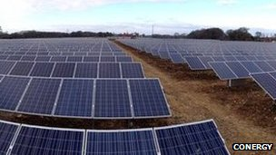 Conergy solar farm