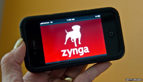 Zynga on an iPhone