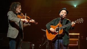 Paul Simon rehearsing for Dublin Concert Hall tribute to Seamus Heaney