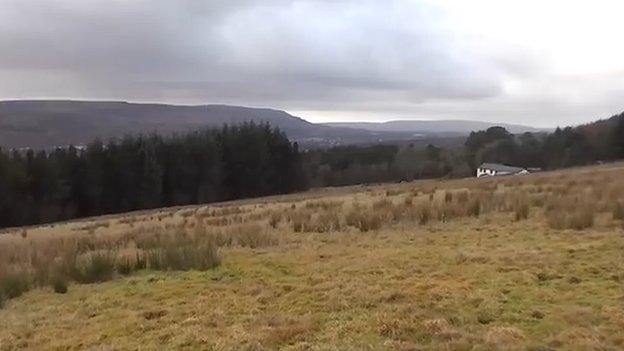 Bryn Defaid near Aberdare