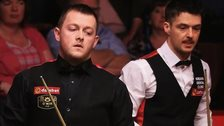 Mark Allen beat Michael Holt in round one