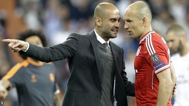 Robben surprised by madrid approach