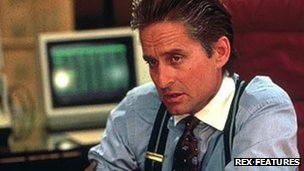 Michael Douglas as Gordon Gekko