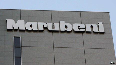 Marubeni headquarters in Tokyo