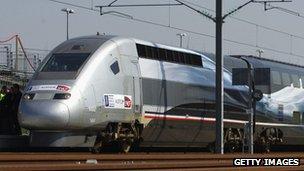 V150 TGV train
