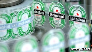 Heineken plant