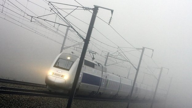 TGV made by Alstom