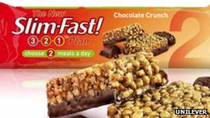 Slim Fast bar