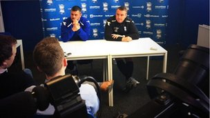 Press conference at Birmingham City