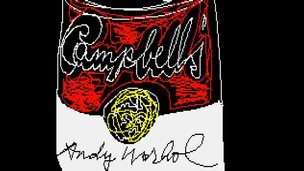 Andy Warhol Amiga art
