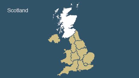 Map: Scotland