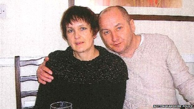 Malgorzata Dantes (left) and her husband Leszek Dantes (right)