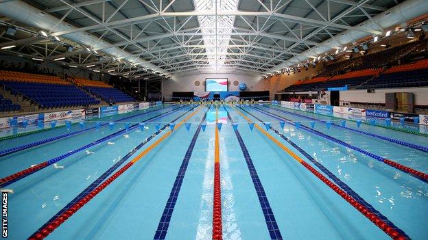 Tollcross International Swimming Centre in Glasgow