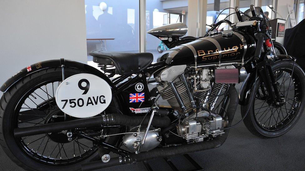 A modern Brough Superior SS100