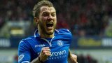 St Johnstone striker Stevie May