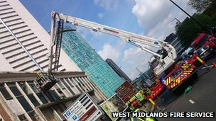 West Midlands Fire Service in Birmingham