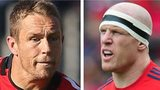 Jonny Wilkinson and Paul O'Connell
