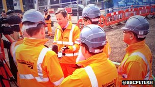 David Cameron in Reading