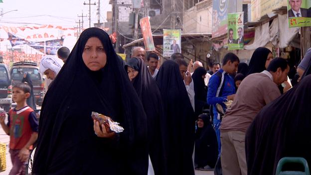 Basra street-scene