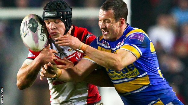 Jonny Lomax and Danny McGuire