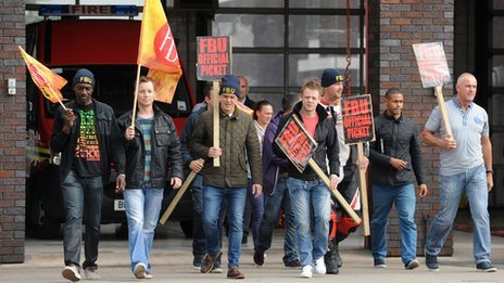 FBU strikes