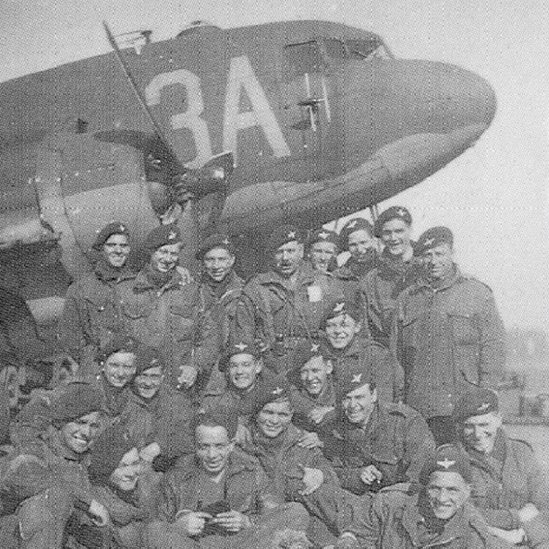 Paratroopers at RAF Barkston Heath