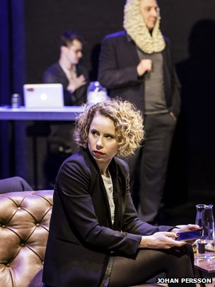 Michelle Terry plays The Director as well as several other characters in Privacy